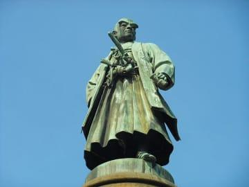▲大村益次郎像(東京都千代田区)