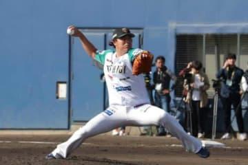 【トライアウト】元中日若松が打者3人に1四球無安打投球 「去年とは違う真っ直ぐをみせられた」