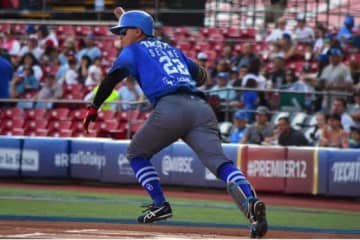 ヤキス・デ・オブレゴンでプレーしているDeNA・関根大気【写真:球団提供】