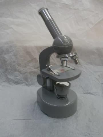 【増田健一の昭和レトロ家電小博覧会】「自動照明顕微鏡」…暗い部屋でも観察ができる
