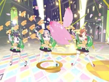 「ラピスリライツ VR魔法ライブ ~First Magic Act~ in cluster」第5弾の模様 (C)2017 KLabGames(C)2017 KADOKAWA CORPORATION