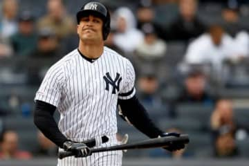 ヤンキースと大型契約を結んでいるジャンカルロ・スタントン【写真:Getty Images】