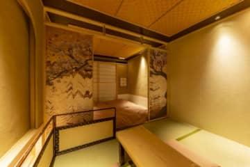 「茶室ryokan asakusa」の部屋。(画像: レッドテックの発表資料より)