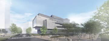 NHK新放送センター「情報棟」の外観イメージ図