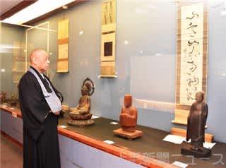 仏教美術品をより身近に 前橋・養蚕の仏「馬鳴菩薩像」も紹介