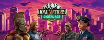 「ドミネーションズ -文明創造-」にデジタル時代が登場!新たな飛行場部隊や学問所リーダーなどを追加