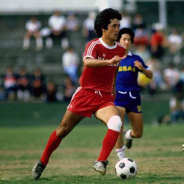 1983年6月26日JSLカップ決勝ヤンマーディーゼル対日産自動車の楚輪博選手