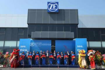 ZFのベトナム工場の開所式