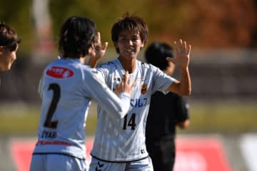 伊賀戦で3得点を奪う活躍を見せた、INAC神戸FW京川舞(写真:井上智博)