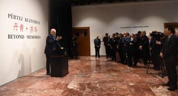 アルバニアの首相官邸で中国をテーマにした展覧会開催