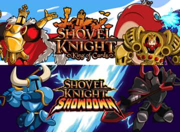『ショベルナイト』拡張「King of Cards」「Showdown」の配信日が決定!