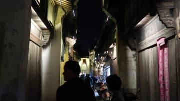 歴史的な街並みと昔ながらの職人たち 浙江省松陽県