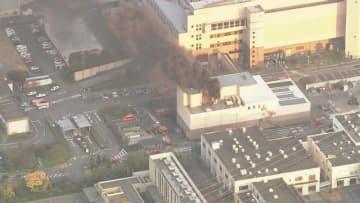 ごみ処理施設で火災、作業員1人病院搬送 愛知・一宮市