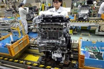 マツダSKYACTIV-Xの生産ライン