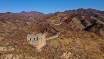 初冬の長城を訪ねて 河北省唐山市