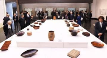 磨き抜かれた技が光る日本伝統工芸展岡山展の会場
