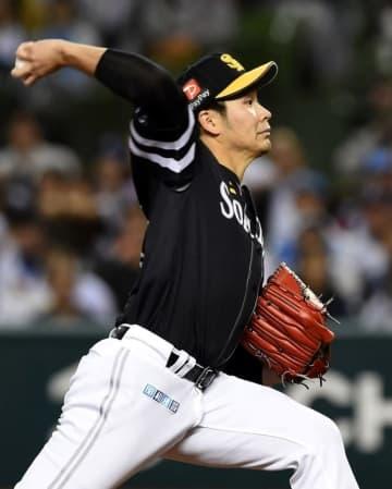 ソフトバンク武田は全治4カ月 横浜市内で右肘手術