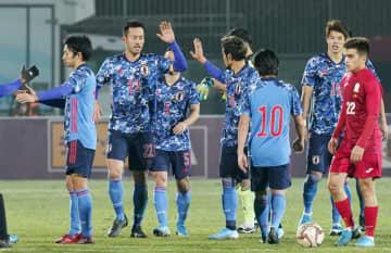 일본, 키르기스스탄에 2-0 승리