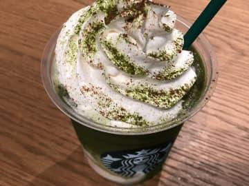 今度は京都限定フラペチーノ! スターバックス「えらい 抹茶 抹茶」が格別!