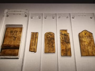 湖南省博物館で中国歴代の木簡・竹簡・帛書を集めた特別展開催