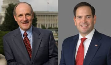 Jim Risch and Marco Rubio. Photo: Wikimedia Commons.