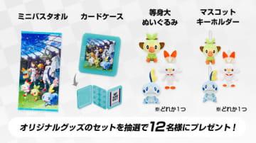 『ポケモン ソード・シールド』パッケージ版購入者に向けたアンケートが実施中―抽選で12名にオリジナルグッズセットをプレゼント!
