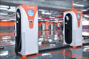 Didi provides EV charging services through its Xiaoju platform. (Image credit: Didi Chuxing)