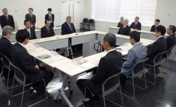 宇高航路の在り方などを話し合った「宇野高松間地域交通連絡協議会」