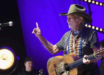 Willie Nelson performs at The Life & Songs of Kris Kristofferson