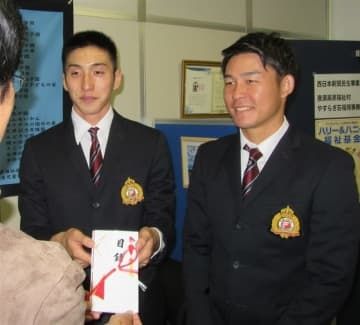 福岡大サッカー部、被災地支援へ寄付 台風19号被害