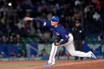 韓国打線相手に好投した台湾代表のオリックス・張奕【写真:Getty Images】
