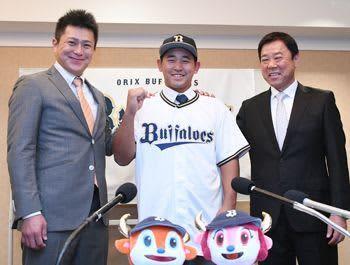 オリックス宮城(興南)誕生 「日本代表する選手に」