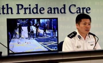 香港警察、暴徒により大学が「暴動の拠点」になったと非難