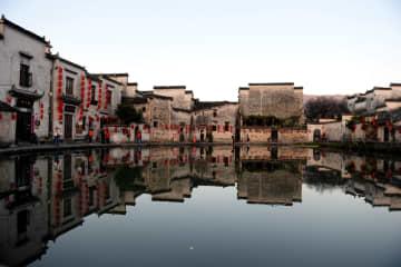 初冬の宏村を訪ねて 安徽省黟県