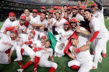 初の五輪出場を決めたメキシコ代表【写真:Getty Images】