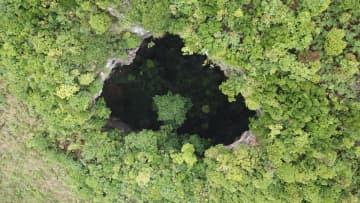 広西チワン族自治区で大型の天坑群見つかる