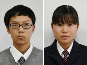 森康太さん(左)と長谷川素子さん