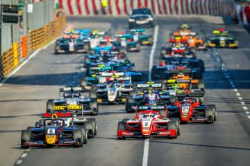 「サンシティグループF3マカオグランプリ-FIA F3ワールドカップ」決勝レース=2019年11月17日、マカオ・ギアサーキット(写真:GCS)
