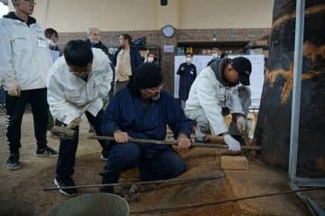 中日両国の考古学者、漢代の製鉄技術を復元