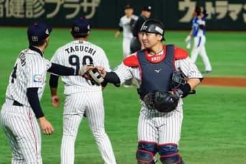 侍ジャパンは5回を終え韓国相手に4-3とリード【写真:荒川祐史】