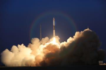 中国、グローバルマルチメディア衛星2基の打ち上げに成功