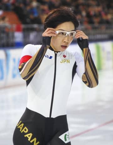 女子1000メートルで6位の小平奈緒=ミンスク(共同)