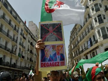 Amazigh opposition boycott Algeria election with bricks