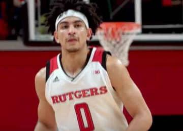 Rutgers men's basketball star Geo Baker