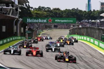 フェルスタッペンが今季3勝目。ガスリーが2位!【順位結果】F1第20戦ブラジルGP決勝