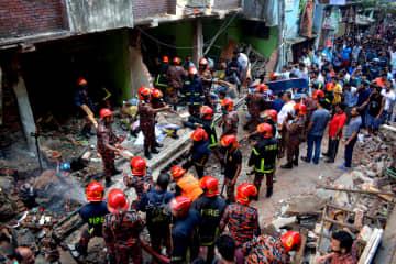 バングラデシュでガス爆発、7人死亡