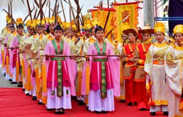 福建省の湄州媽祖像、タイで巡礼を開始