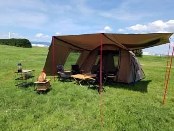 空気を入れるだけで自立するエアーテントシェルター「READY Tent」発売