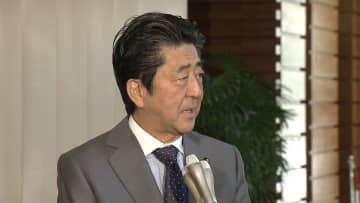 安倍首相 夕食会の入出金「一切ない」 桜を見る会前日