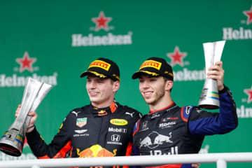 レッドブル・ホンダ密着:対メルセデスに完勝。ホンダF1として91年鈴鹿以来の1-2フィニッシュ/ブラジルGP決勝